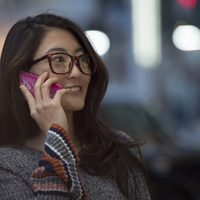 Metrica Feedback lady phone